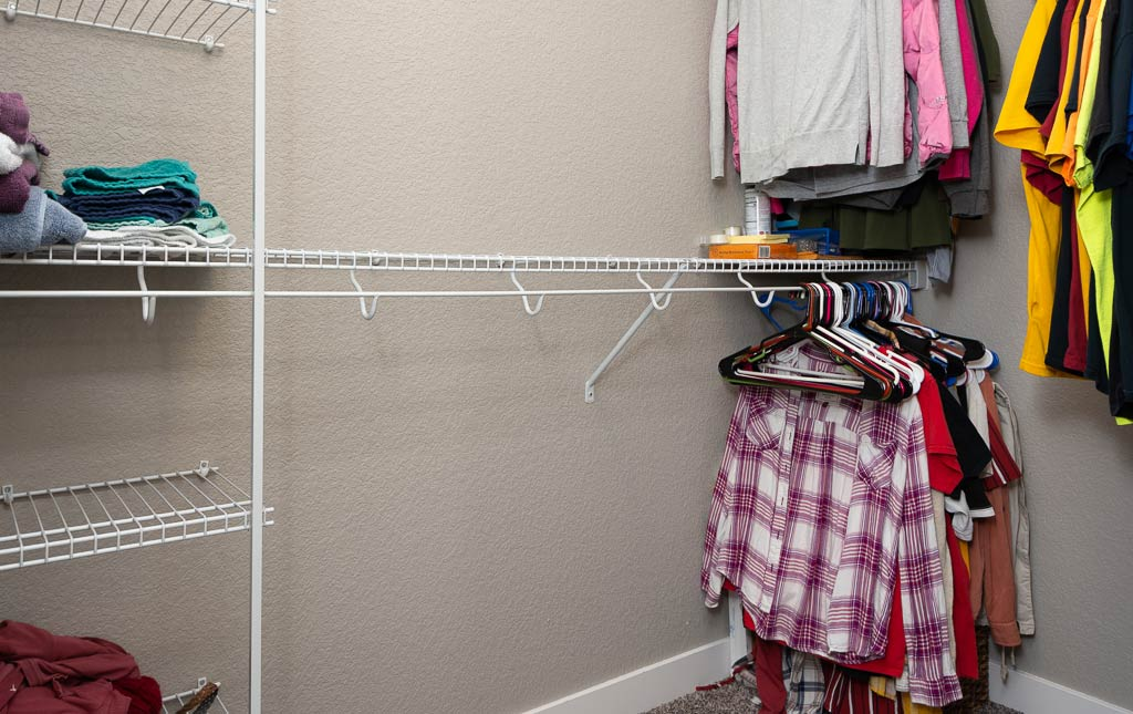 3724 Marigold Drive - Townhome for Rent - Walk in closet