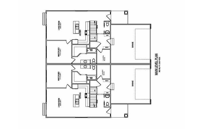 3724 Marigold Drive - Townhome for Rent - Floorplan Main Level