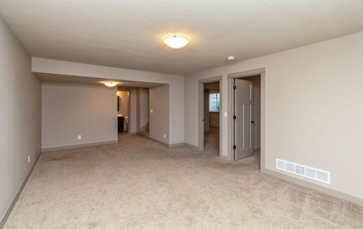 3806 Marigold Drive - Townhome for Rent - basement