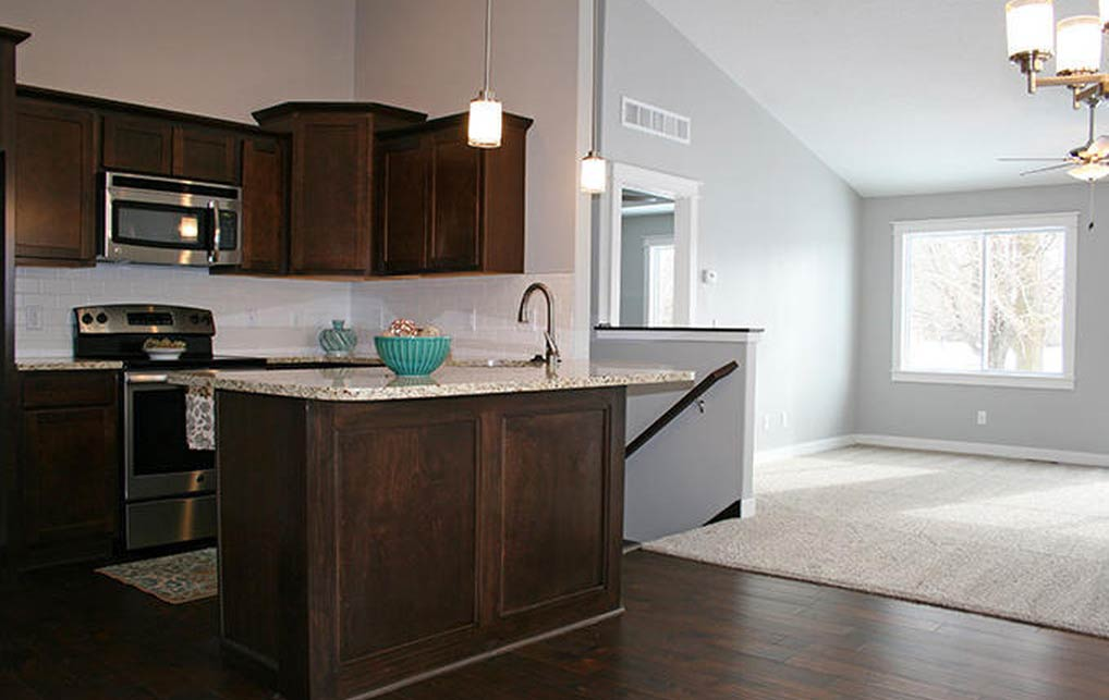 3818 Marigold Drive - Townhome for rent - kitchen and living room