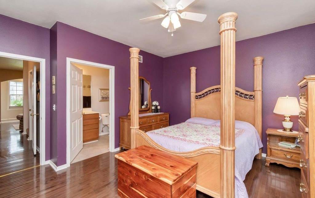 3838 Marigold - Rental Home - master bedroom