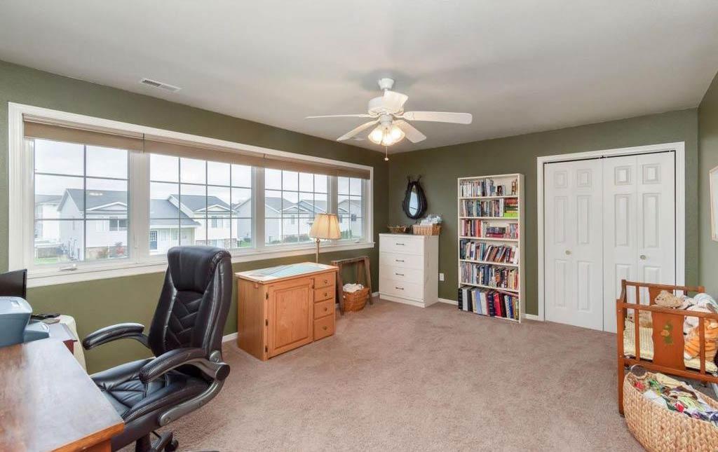 3838 Marigold - Rental Home - Bedroom set up as office space